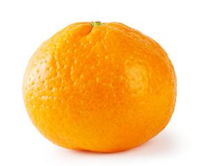 Bright ripe tangerine