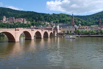 Heidelberg Schloss Alte Brücke Heiliggeistkirche Jesuitenkirche