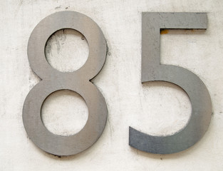 Number eighty five