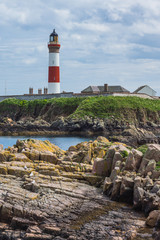 Lighthouse at Boddam UK Scotland