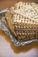 Jewish matzot-CloseUp