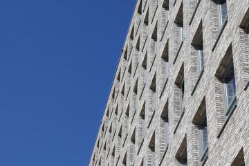 Details eines Bürogebäudes