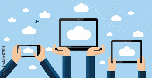 Cloud computing concept - 66271016