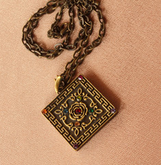 jewelry pendant on a chain
