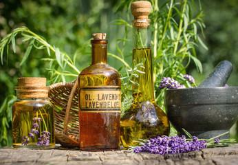 Lavendel - Verarbeitung im Garten