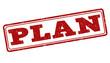 Plan stamp