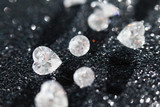 diamonds on black background - 66271861