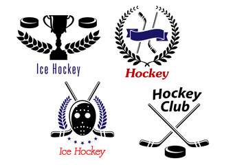 Ice hockey symbols and emblems