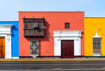 Traditional style windows found in Trujillo, Peru
