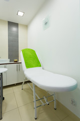 Interior of modern healthy beauty spa salon. Treatment room.