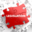 Legislation on Red Puzzle. - 66274086