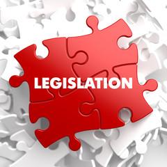 Legislation on Red Puzzle.