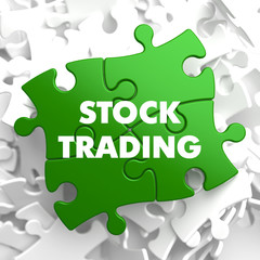Stock Trading on Green Puzzle.