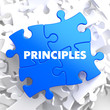 Principles on Blue Puzzle. - 66274612