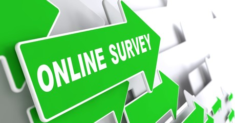 Online Survey on Green Direction Arrow Sign.
