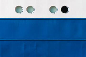 Seefahrt, Schiff, Bullaugen, Einblicke, Aussicht