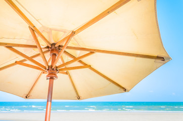 Umbrella beach