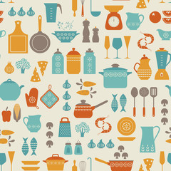 Kitchen pattern