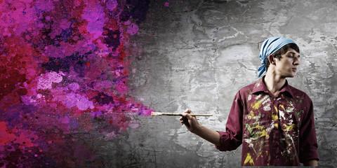 Man painter