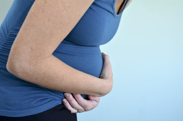 Pregnancy - pregnant woman morning sickness