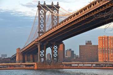 Manhattanbridge, NYC, USA
