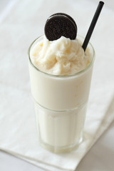 milk and cookies smoothie