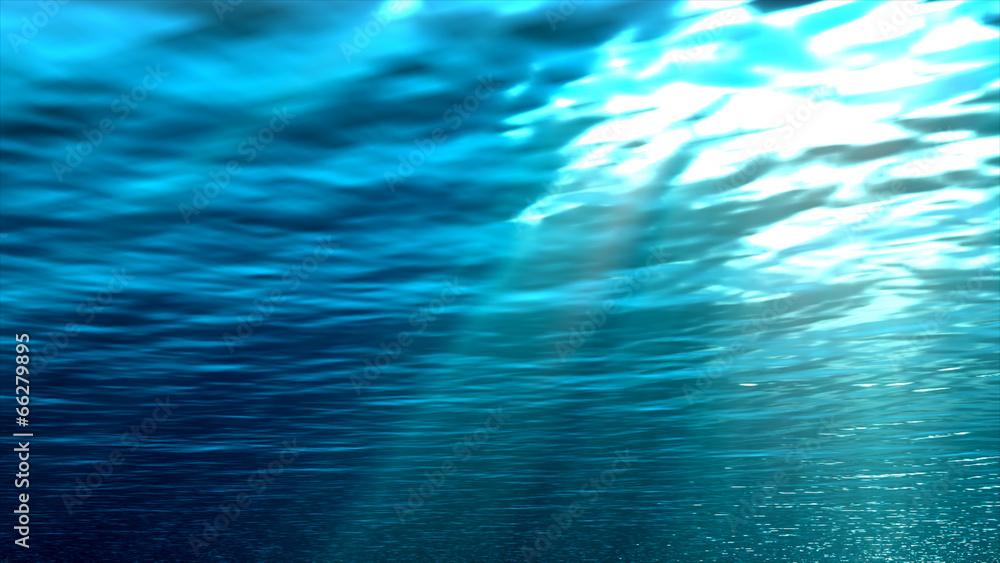 woda niebieski fala - powiększenie