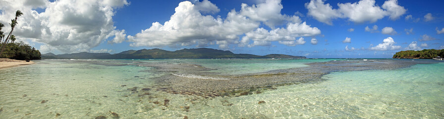 eau limpide de république dominicaine