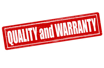 Quality and warranty