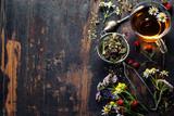 Fototapeta Kawa jest smaczna - Herbal tea © Natalia Klenova