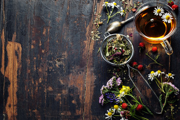 Herbal tea © Natalia Klenova