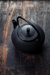 traditional eastern teapot