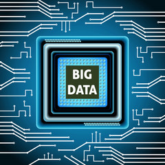 Microchip big data background