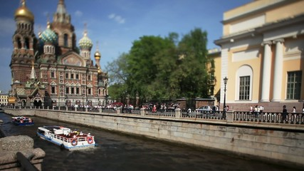Travel to Russia St. Petersburg in the summer