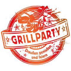 Stempel Grillparty