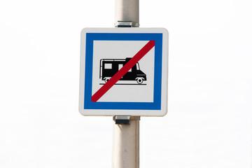 Stationnement interdit pour camping car