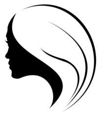 profil de jeune fille