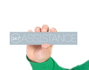 24/7 assistance