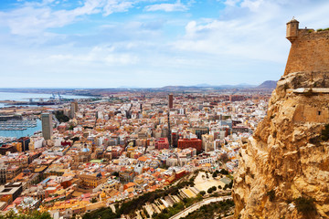 General view of Alicante