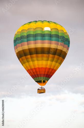 Deurstickers Ballon Ballonfahrt