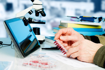 Genetic laboratory