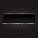 Fototapety Black background. Golden element.