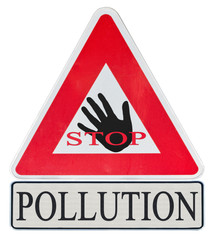 stop à la pollution