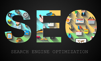 SEO Search engine optimization concept