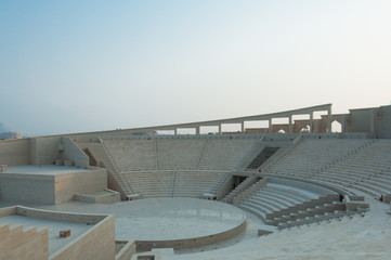 View of Amphitheater Doha, Qatar