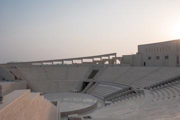Amphitheater at sunset Katara Doha, Qatar