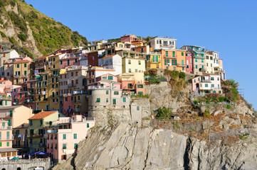 Village of Manarola in Cinqueterre, Italy