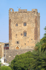 Norman Castle In Adrano, Sicily