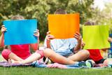 Fototapety Children outdoors