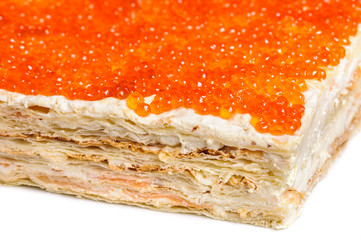 red caviar pie